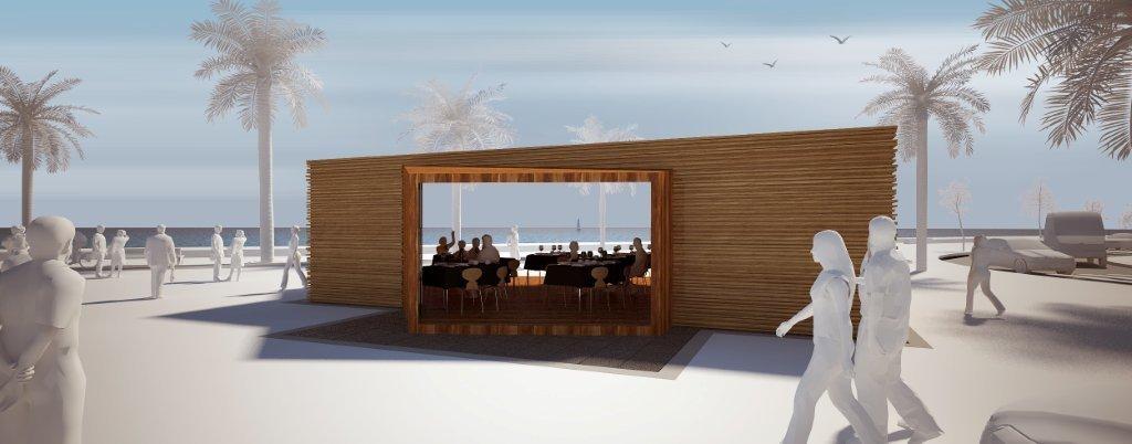 El ayuntamiento de adra saca a concurso la concesi n del for Kiosco bar madera