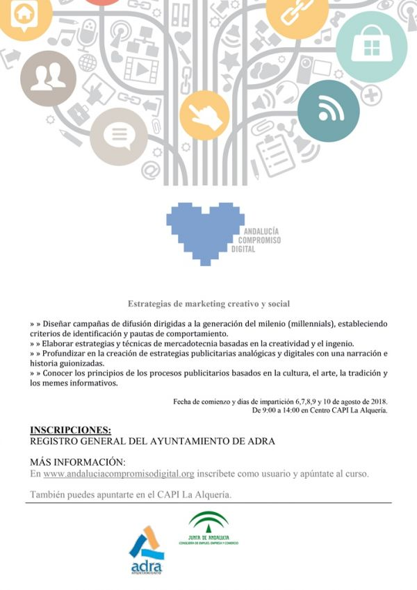 CARTEL CURSO MARKETING